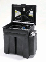 Aqueous Parts Cleaner offers 45 gal capacity.