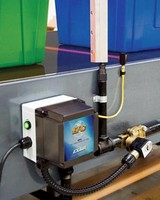 Electronic Flow Control minimizes compressed air use.