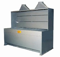 Downdraft Tables manage ultra-fine dust applications.