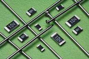 Resistors offer maximum working voltages to 500 V.