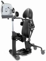 Wheelchair Rehabilitation Aid helps condition upper body.
