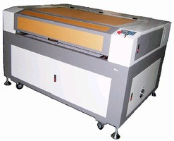 Machines provide laser engraving and cutting.