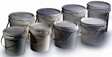 Polypropylene Pails suit commercial and industrial use.