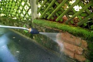 Rotary Nozzle optimizes impact pressure.
