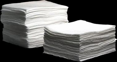 Absorbent Pads are designed for oil-only applications.