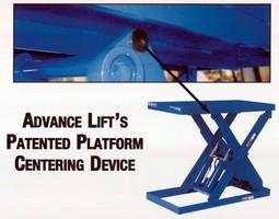 Patented Platform Centering Device
