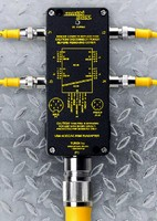 Junction Box contains integrated DC power supply.