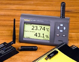 Temperature/Humidity Logger offers wireless capability.