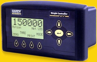 Weight Controller offers several communications options.