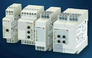 Three-Phase Monitoring Relays protect machinery and people.