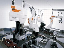 SCARA Robots automate long reach tasks.