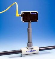 In-Line Sensor monitors pH of liquid chemicals.