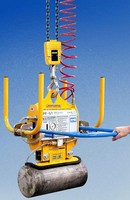 Below-the-Hook Vacuum Lifter handles nonferrous materials.