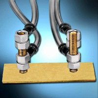Self-Clinching Studs provide high-strength attachment.