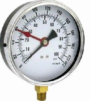 Level Gages withstand temperatures of -50 to 160°F.