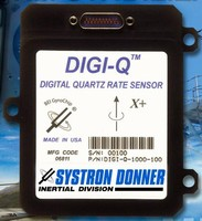 Digital Quartz Rate Sensor exhibits under 0.05% linearity.