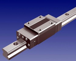 Linear Motion Guide operates in medium to low vacuum.