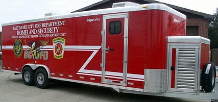 Draeger Safety, Inc. Builds On-Site Mobile Service Trailer for Baltimore Firefighters