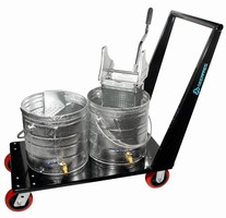 Mopping System suits manufacturing and industrial cleaning.