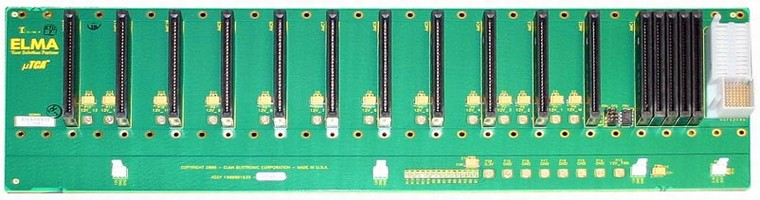 MicroTCA Backplane has 14-slot design.