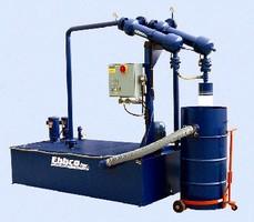 Filter System eliminates contaminants in coolant.