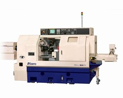 Miyano's BNJ Series of Compact CNC Turning Centers