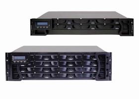 Disk Arrays facilitate high capacity digital video storage.