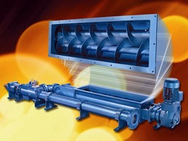 Moyno® 2000 HS System Features Twin Screw Feeder for 100% Pump Cavity Fill Rate