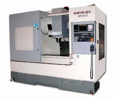 Vertical Machining Centers utilize 25 hp spindle motor.