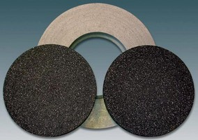 Grinding Wheels suit conventional, high-speed applications.