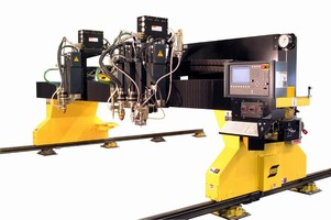 ESAB Combination Waterjet/Plasma Cutting Machine Combines Speed and Accuracy