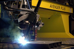 Hybrid Welding System combines laser with GMAW.