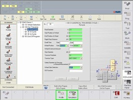 NUM's Solutions for Grinding Have User-Friendly Graphical and Conversational Programming