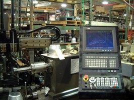 NUM's CNC System Makes Programming Spin Forming a Breeze