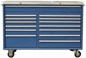 Rolling Cabinet provides portable tool storage solution.
