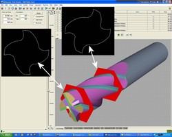 Tool Grinding Software promotes operational flexibility.