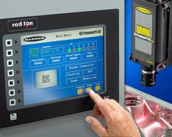 Red Lion G3 Series HMIS Add Touch-Screen Display Operation to All Banner Presenceplus® Vision Sensors