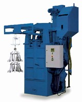 Hanger Machine cleans and prepares odd-shaped work pieces.