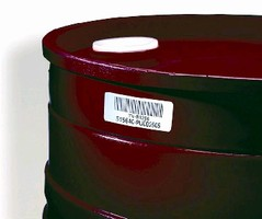 Bar Code Labels identify reusable containers.