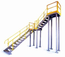 Structural Stairs meet code requirements.