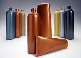 Lustrous Metallic Concentrates Impart Identical Color to All Plastics Used For Packaging a Health & Beauty Aids Product Line