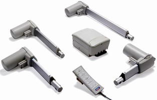 Compact Actuator Systems position and adjust hospital beds.