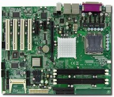 ATX Motherboard is based on Intel Core 2 Duo processor.