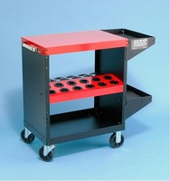 CNC Tool Cart Adds Flat Top for Heavy Duty Work Surface