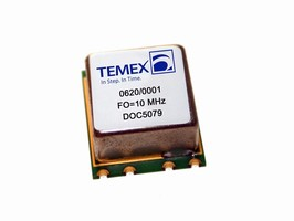 Temex's World-Class Performance Crystal Oscillators for Telecom, Test & Measurement, and Synchronization Applications
