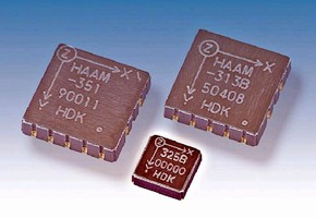 Sensor/Accelerometer offers output sensitivity of 400 mV/G.