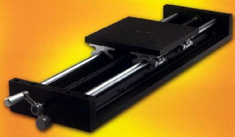 Precision Slide Tables feature sealed linear bearings.