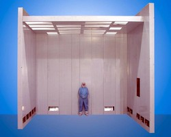 Cleanrooms handle Class 100,000 to Class 10 conditions.