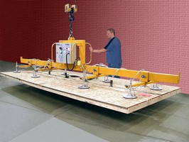 Vacuum Lifter Handles Particleboard and Drywall