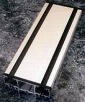 Linear Double Rail System has enclosed aluminum housing.